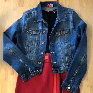 H&M Denim Cropped Jacket